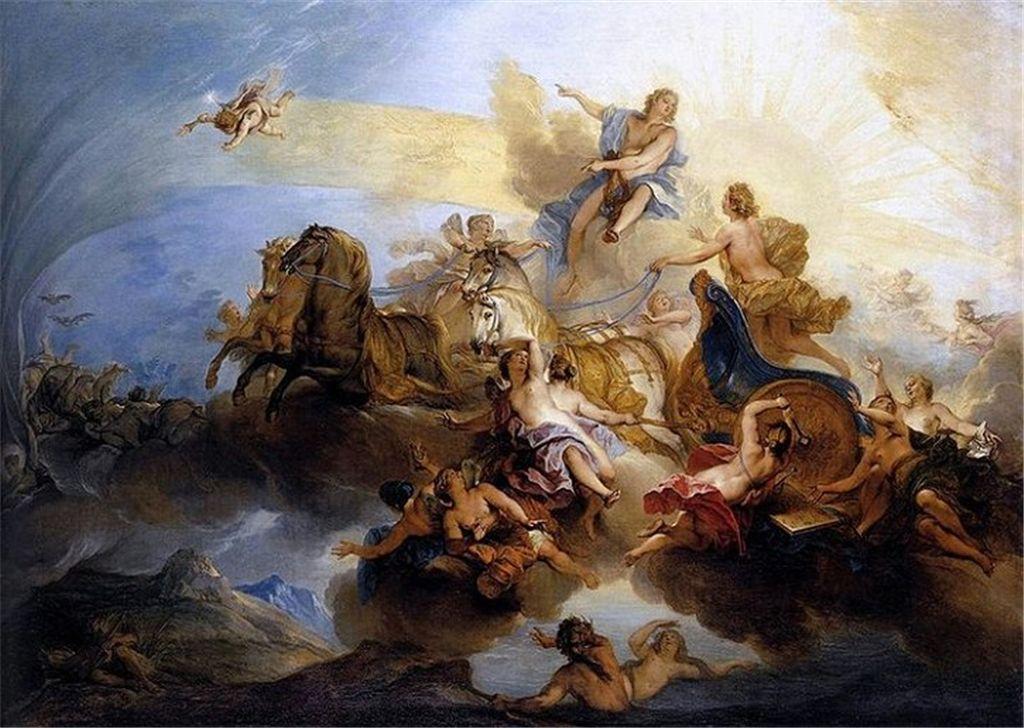 你知道几个神话传说中太阳神?